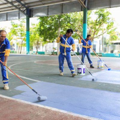 Rehabilita Gobierno de Solidaridad más del 95% de parques y jardines