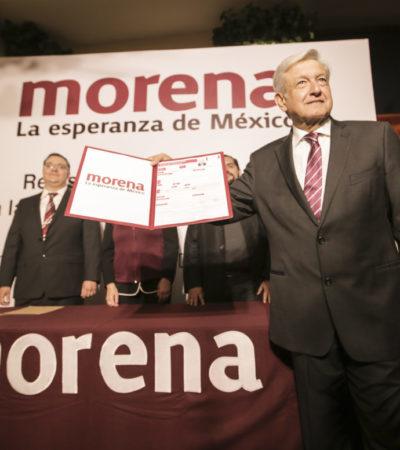 AMLO YA ES PRECANDIDATO: El tabasqueño renuncia a la dirigencia de Morena y va por su tercera postulación a la Presidencia