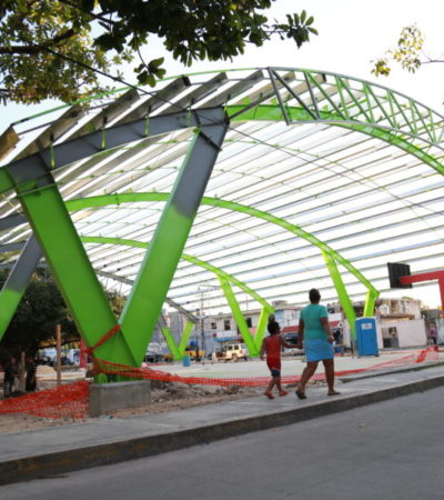 Detallan proyectos de infraestructura deportiva en proceso para Cancún