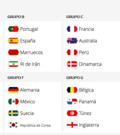 RUSIA 2018 | JUGARÁ MÉXICO EN EL GRUPO DE LA MUERTE: El Tri queda en el Grupo F con Alemania, Suecia y Corea del Sur