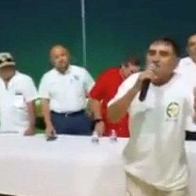 """""""¿CUÁNTO VALE LA VIDA DE ESOS HIJUEPUTAS?"""": Tras polémica por difusión de video con arengas de taxistas contra Uber en Cancún, dice líder que no avalan violencia"""