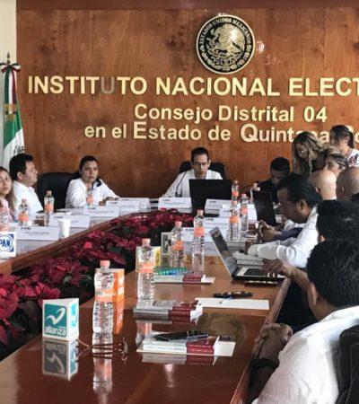 ARRANCA PROCESO ELECTORAL EN EL NORTE DE QR: Se instala Consejo Distrital 04 del INE en Cancún