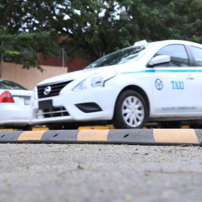 Construyen más de 62 reductores de velocidad y pasos peatonales en Playa del Carmen y Puerto Aventuras