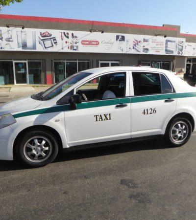 Fallece taxista de Cancún en Playa del Carmen