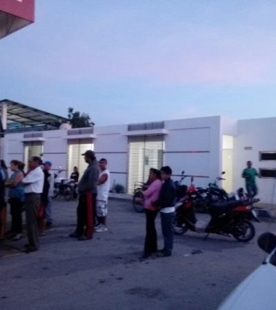 Asaltan sucursal de Gas Tomza en Cancún