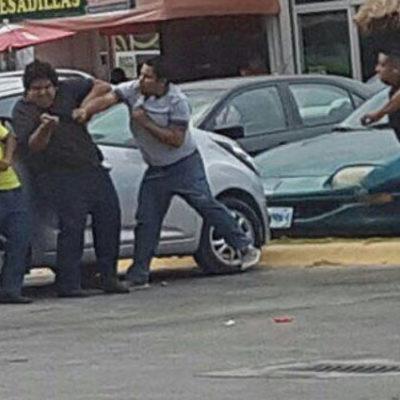 REPRUEBAN VIOLENCIA CONTRA UBER: Confirma Derechos Humanos apertura de queja por arengas de dirigente taxista contra la plataforma digital en Cancún