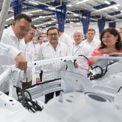 INDUSTRIA AUTOMOTRIZ APUESTA POR YUCATÁN: Empresa alemana Leoni abre una planta al oriente de Mérida