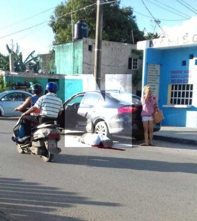 PRIMER EJECUTADO EN CARRILLO PUERTO: Matan a balazos en la Avenida Santiago Pacheco Cruz a administrador de bares