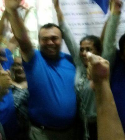TIENEN TAXISTAS NUEVO LÍDER EN CHETUMAL: Gana Sergio Cetina Valle elección en el Suchaa