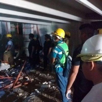 TRAGEDIA EN MÉRIDA: Derrumbe en construcción deja saldo preliminar de 4 muertos y al menos 9 heridos