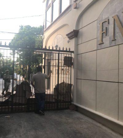 """""""SE FUERON Y SE LLEVARON TODO"""": Se va SEIDO de Cancún con cajas de seguridad del FNS; """"nos dejaron esperando afuera como p…"""", reclaman usuarios"""