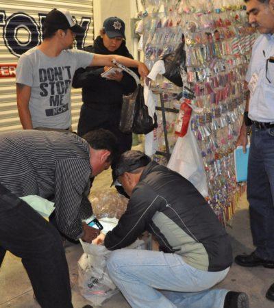 Decomisan pirotecnia en Chetumal
