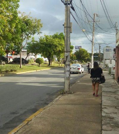 Bajan temperaturas en Cancún por frente frío 14