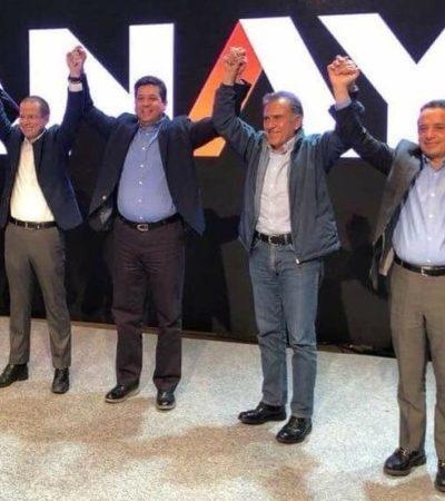 'DESTAPE' EN EL PAN POR LA PRESIDENCIA: Oficializa Ricardo Anaya intención de buscar candidatura por el 'Frente'; Carlos Joaquín y otros Gobernadores lo respaldan