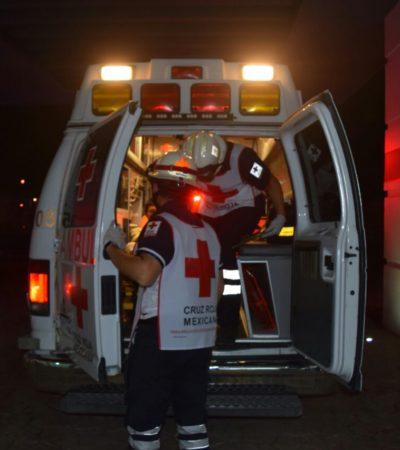 LEVANTÓN Y BALEADO EN CANCÚN: Al tratar de impedir secuestro de su hermano, un hombre recibe dos disparos, uno en cada pierna, en la Avenida Lakín