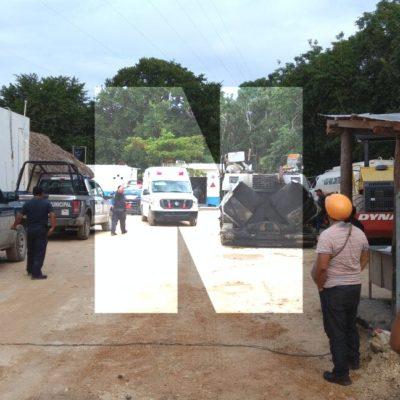 ASALTO, PERSECUCIÓN Y BALACERA EN TULUM: Saldo preliminar de un herido y 9 detenidos en enfrentamiento entre policías y presuntos delincuentes tras robo a constructora en Aldea Zamá