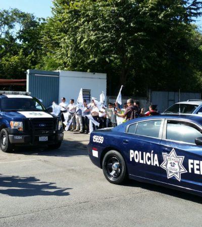 Intensificará Policía Federal presencia en las carreteras de la Zona Sur para evitar crezca presencia de grupos delictivos