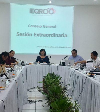 En la víspera del inicio del proceso electoral, aprueba Ieqroo porcentaje mínimo para independientes