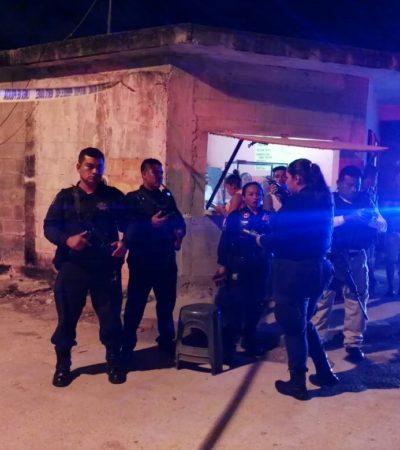 LLEGARON A BORDO DE UN TAXI Y DISPARARON: Rafaguean casa en la Región 92 en Cancún; no hay lesionados
