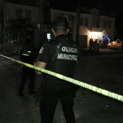 INTENTO DE EJECUCIÓN EN CANCÚN: Balean a un hombre en el fraccionamiento Haciendas Real del Caribe