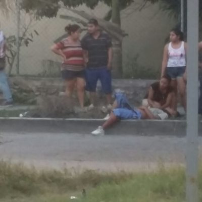OTROS TRES BALEADOS EN CANCÚN: Disparan contra tres presuntos albañiles en la inmediaciones de Paseos Kabah
