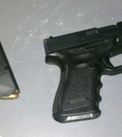 Detienen a un hombre por realizar disparos en la Región 259 de Cancún
