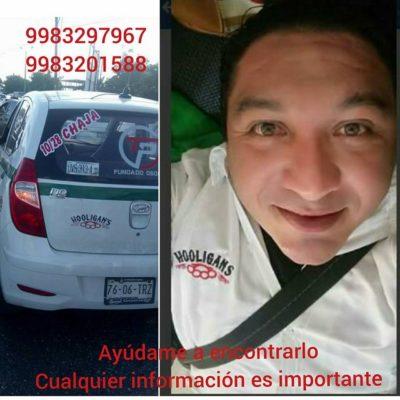 Reportan desaparición de un taxista en Cancún