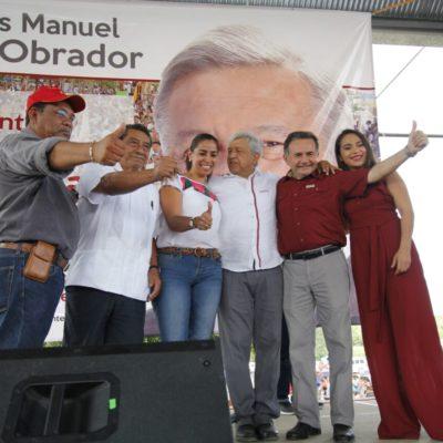 RECOGE AMLO PERSONAJES DEL BORGISMO-FELIXISMO: Confirma Morena alianza con lo peor del pasado político de Quintana Roo