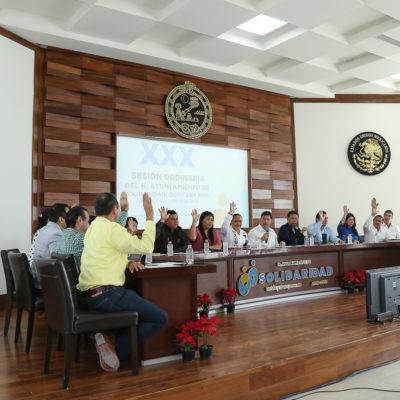 Aprueba Cabildo de Solidaridad otorgar bono único a policías municipales