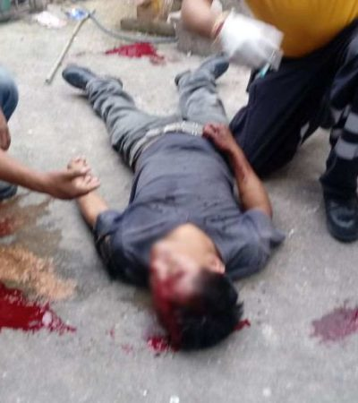 Hombre cae de segundo piso en Playa; se debate entre la vida y la muerte