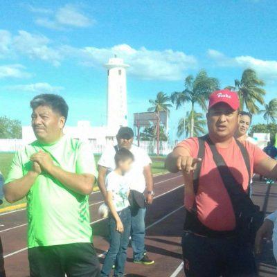 Padre de familia agrede a un menor en partido de futbol