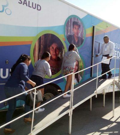 Continuará brindando servicios brigada de salud durante primera semana de 2018 en Tulum