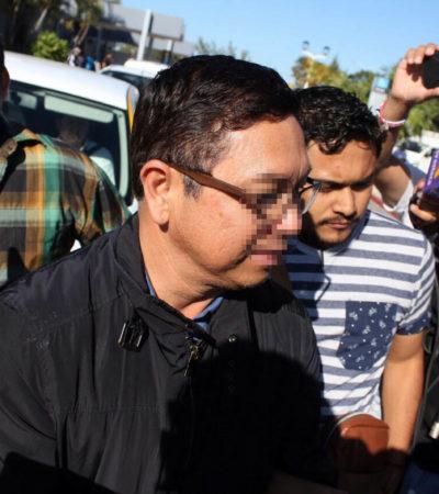 VINCULAN A PROCESO A EX FUNCIONARIO DE BORGE: Decreta juez prisión preventiva para Erce Barrón Herrera por uso ilícito de atribuciones y facultades