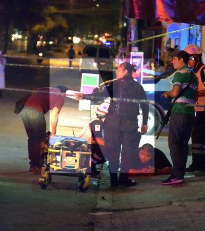 PRELIMINAR | RAFAGUEAN BAR 'TERESITA' EN CANCÚN: Un hombre herido en antro de la Región 100