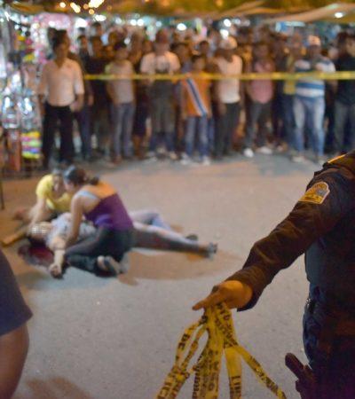 EJECUTAN A UNA MUJER EN TIANGUIS: En ataque a balazos muere fémina y un hombre resulta herido en el fraccionamiento Paseos del Mar en Cancún