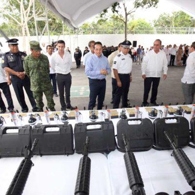 """Defiende Carlos Joaquín Ley de Seguridad Interior que permitirá intervención de Fuerzas Armadas; """"lo mejor que puede ocurrir es que haya legalidad en la forma en que se conducen"""", señala"""