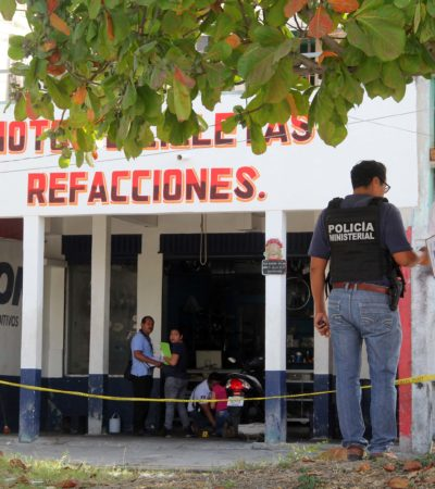 SE CONSUMA EJECUCIÓN EN LA RUTA 5: Balean a un hombre en taller de motos de la Región 91 y muere en el hospital