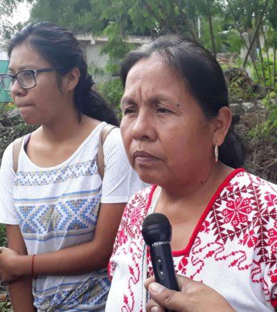 """'MARICHUY' VISITA LA ZONA MAYA: """"Estamos con todo en contra pero seguimos caminando porque queremos darle voz a todos ustedes"""", dice la activista indígena que aspira a la candidatura independiente a la Presidencia"""