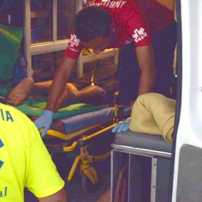 BALAZOS AL AIRE EN BONFIL: Le disparon en el gluteo, pero estaba muy borracho, no se dio cuenta y se fue a dormir; cuando despertó pidió ayuda porque estaba sangrando