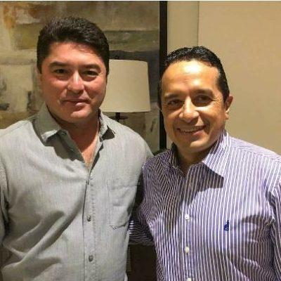 Difunde Senador Félix González Canto encuentro navideño con Carlos Joaquín