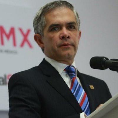 ABANDONA MANCERA CARRERA POR CANDIDATURA DEL FRENTE: Dice jefe de Gobierno que se queda en la CDMX tras ceder el PRD la decisión al PAN
