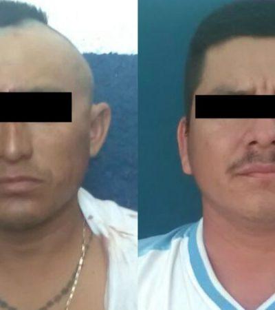 Detienen a dos empistolados por cobrar 'derecho de piso' en la SM 236 de Cancún