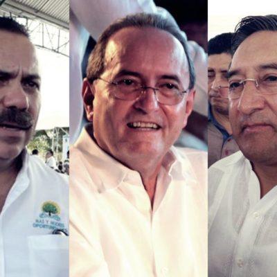 DESMIENTEN SUPUESTAS RENUNCIAS EN SEFIPLAN Y SEDESO: Juan Vergara y Julián Ricalde le corrigen la plana al Secretario de Gobierno