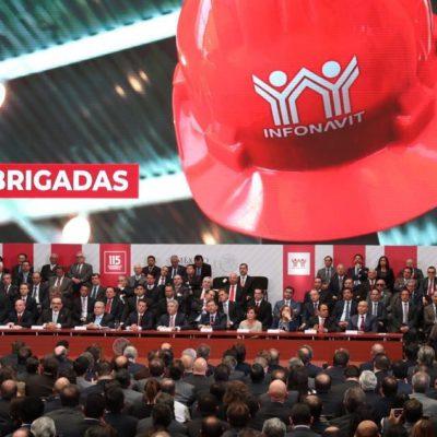 ASISTE GOBERNADOR A ASAMBLEA DEL INFONAVIT: 7 de cada 10 viviendas son financiadas a través del Instituto