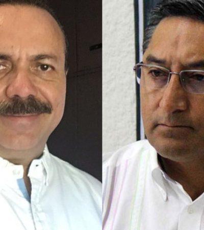 Se inscriben Julián Ricalde y Juan Vergara en el proceso interno del PRD para buscar una senaduría y una diputación federal