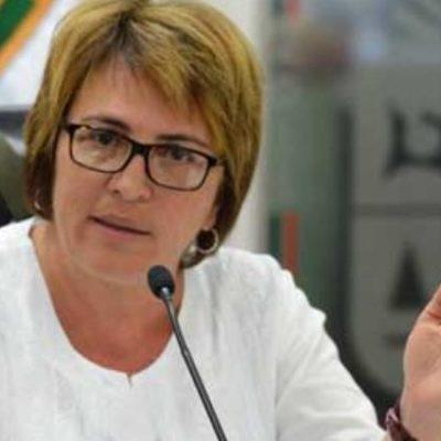 """SE 'DESTAPA' LAURA BERISTAÍN POR MORENA: Se ve la diputada perredista como """"la carta fuerte"""" para buscar la Alcaldía de Solidaridad por el partido de AMLO"""