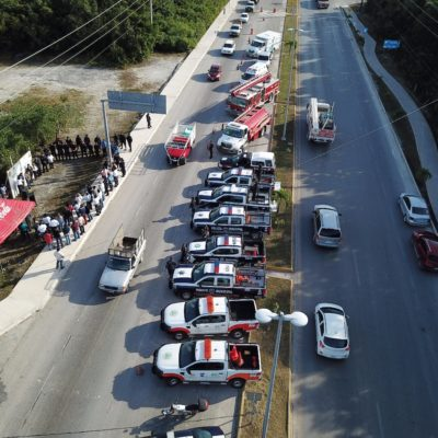 Para salvaguardar a la gente y socorrer incidentes inició el operativo 'Guadalupe-Reyes' en Tulum