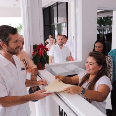 Apertura Romi Dzul Módulo de Atención Ciudadana para reducir tiempos en trámites y solicitudes en Tulum