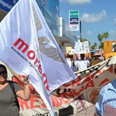 """Dicen que se prepara una renuncia masiva en Morena por imposición de candidatos externos """"con un camino oscuro"""""""