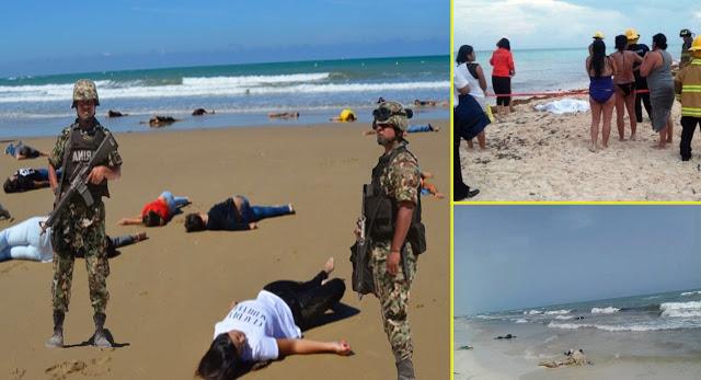 NO TE VAYAS CON LA FINTA… ES 'FAKE NEWS': Difunden en redes información falsa sobre aparición de cuerpos en playa de Cancún